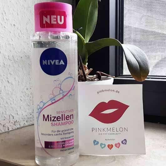NIVEA Sensitives Mizellen Shampoo - Flasche