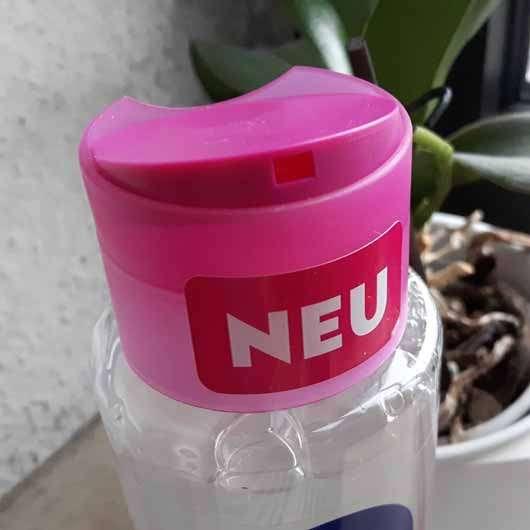 NIVEA Sensitives Mizellen Shampoo - Flasche Öffnung