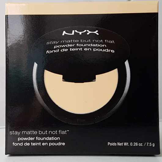 NYX Stay Matte But Not Flat Powder Foundation, Farbe: Natural