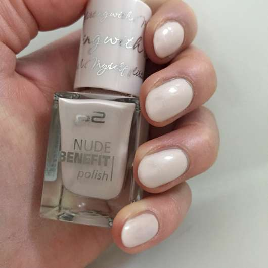 <strong>p2 cosmetics</strong> nude benefit polish - Farbe: 020 flirting with myself