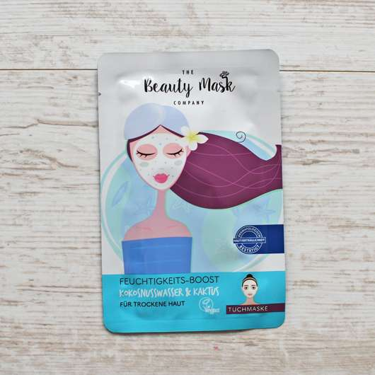The Beauty Mask Company Feuchtigkeits-Boost Tuchmaske