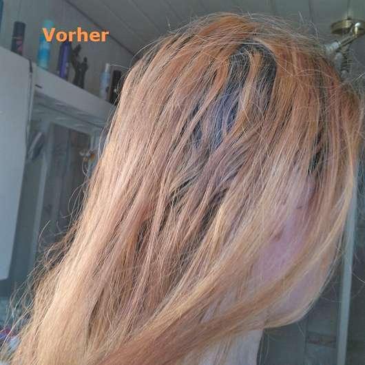 Haare vor Verwendung der Wet Brush Flex Dry, Farbe: Petrol