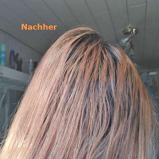 Haare nach Verwendung der Wet Brush Flex Dry, Farbe: Petrol