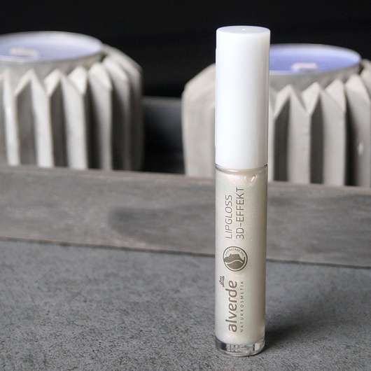 alverde Lipgloss 3D-Effekt - Flakon