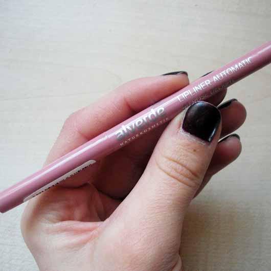 alverde Lipliner Automatic, Farbe: 40 Rosé Delight - Stift