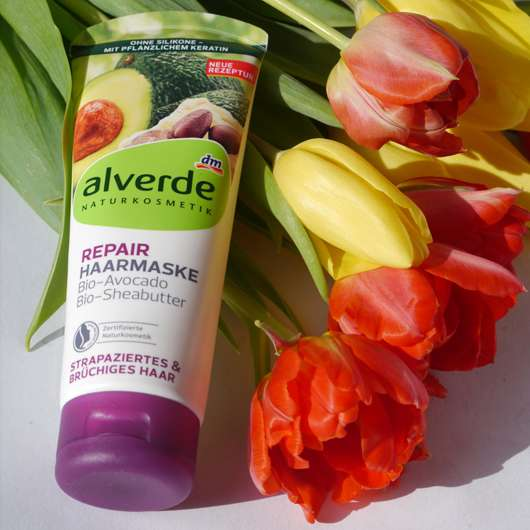alverde Repair Haarmaske Bio-Avocado Bio-Sheabutter
