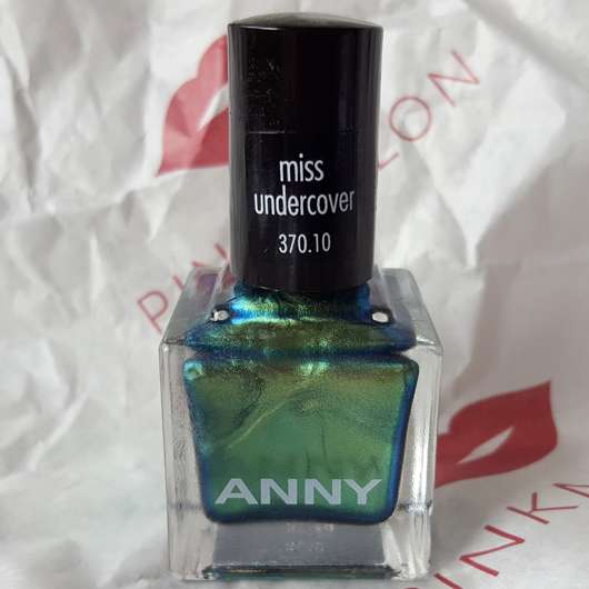 ANNY Nagellack, Farbe: 370.10 miss undercover (LE) - Flakon