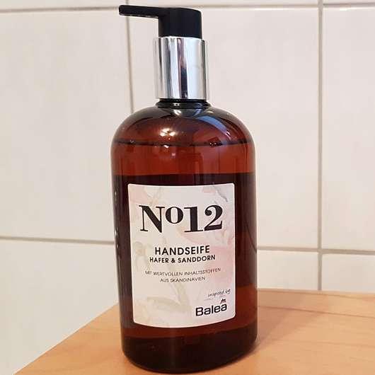 Balea Handseife No. 12 Hafer & Sanddorn - Flasche