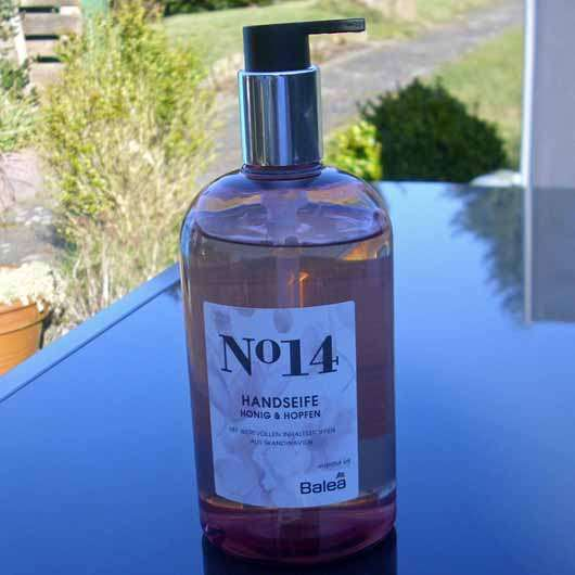 Balea Handseife No. 14 Honig & Hopfen - Flasche
