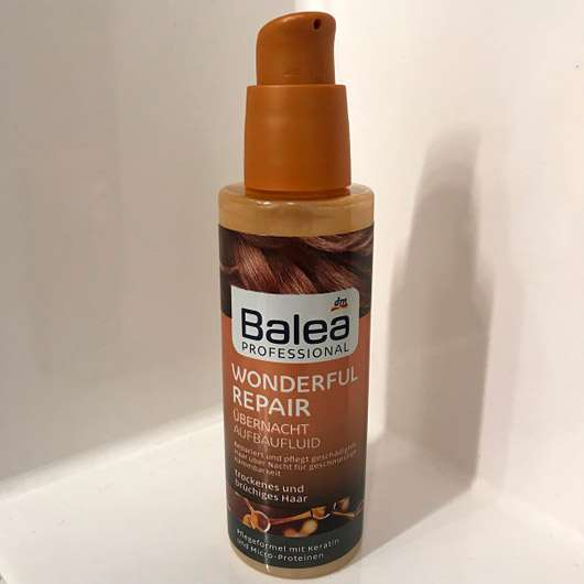 <strong>Balea Professional</strong> Wonderful Repair Übernacht Aufbaufluid