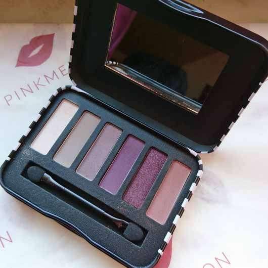 BeYu Be Outstanding Eyeshadow Palette, Farbe: 1 Purple Me On (LE) - Palette geöffnet