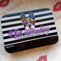 Produktbild zu BeYu Be Outstanding Eyeshadow Palette – Farbe: 1 Purple Me On (LE)