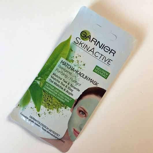 <strong>Garnier SkinActive</strong> Matcha + Kaolin Mask