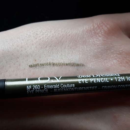 Swatch - L.O.V BestDressed 12H Long-Wear Eye Pencil, Farbe: 260 Emerald Couture