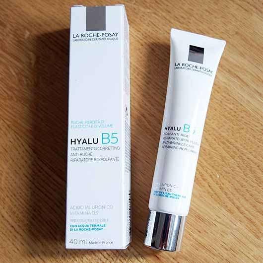 La Roche-Posay HYALU B5 Anti-Falten Pflege - Verpackung und Tube