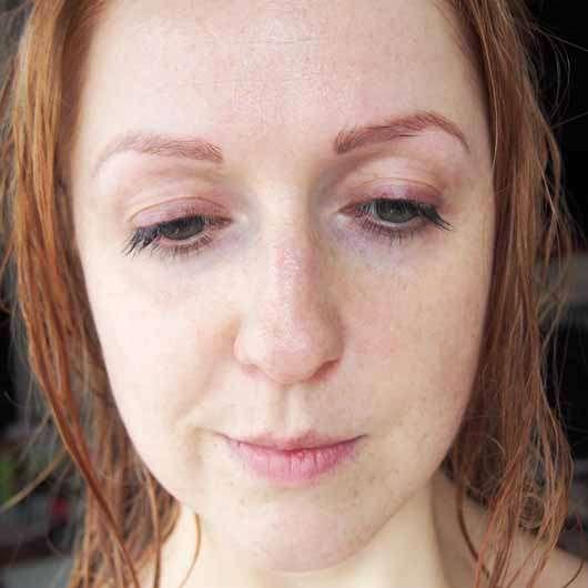 La Roche-Posay HYALU B5 Anti-Falten Pflege - Gesicht nach der Anwendung