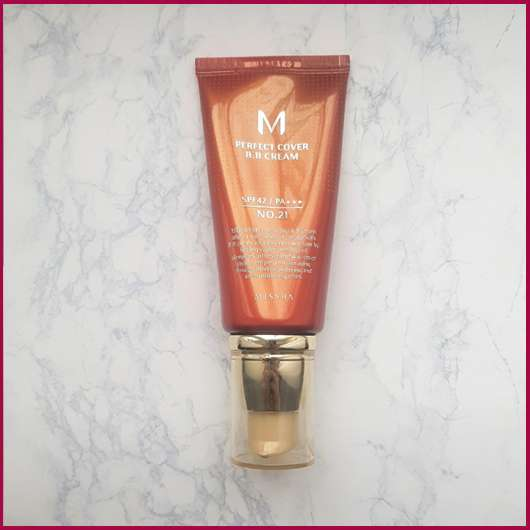 <strong>MISSHA</strong> Perfect Cover BB Cream - Farbe: 21 Light Beige