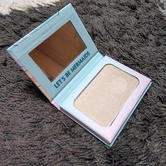 Misslyn let's be mermaids strobing powder (LE) - Verpackung geöffnet