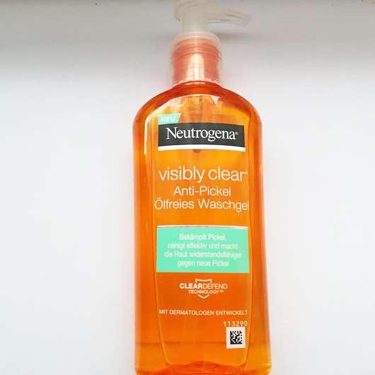 Neutrogena visibly clear Anti-Pickel Ölfreies Waschgel