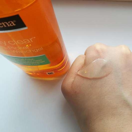 Swatch - Neutrogena visibly clear Anti-Pickel Ölfreies Waschgel