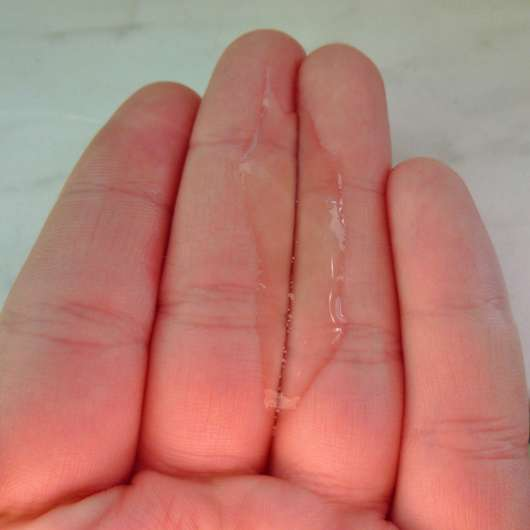 Konsistenz des NIVEA Tiefenreinigendes Mizellen Shampoos