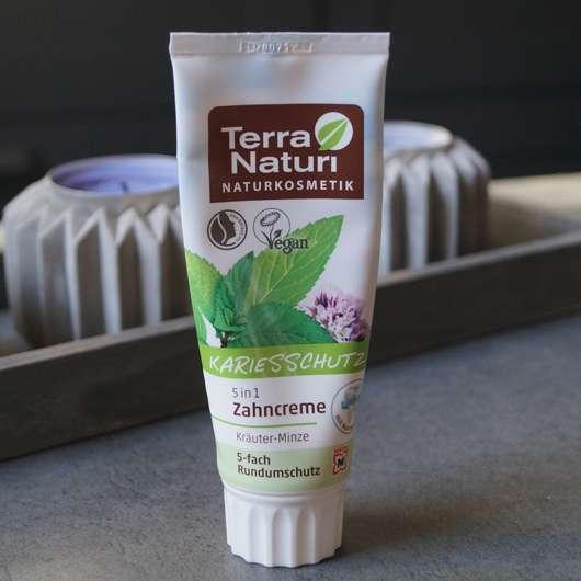 <strong>Terra Naturi Naturkosmetik</strong> 5in1 Zahncreme Kräuter-Minze