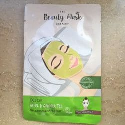 Produktbild zu The Beauty Mask Company Detox Tuchmaske