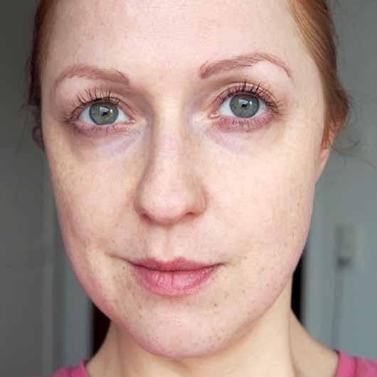 The Beauty Mask Company Strahlkraft Tuchmaske - Gesicht vor der Anwendung