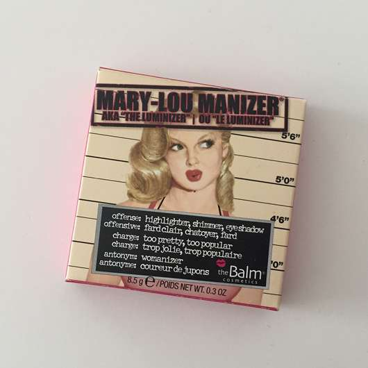 """<strong>The Balm</strong> Mary-Lou Manizer aka """"the luminizer"""""""