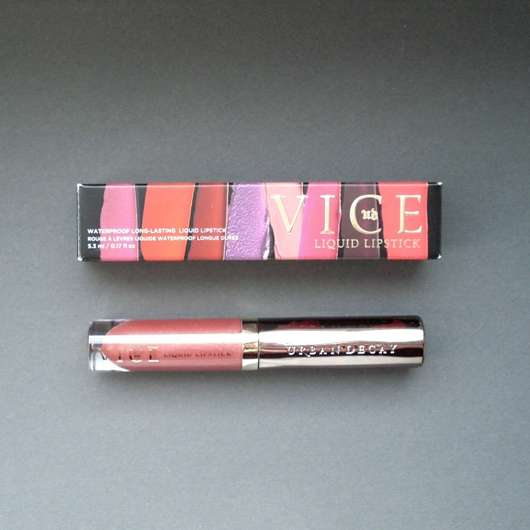 <strong>Urban Decay</strong> VICE LIQUID LIPSTICK - Farbe: Amulet (Comfort Matte Finish)