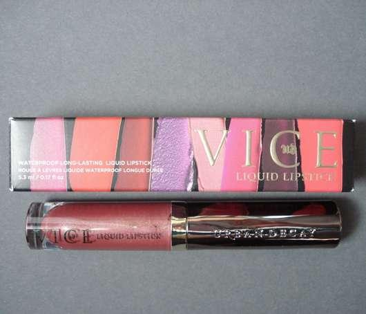 Urban Decay VICE Liquid Lipstick, Farbe: Amulet (Comfort Matte Finish)