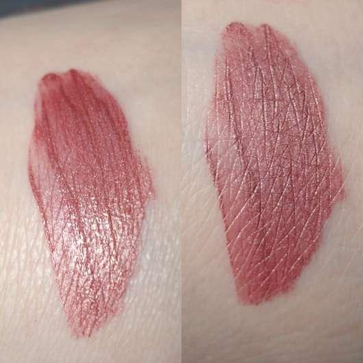 Swatches des Urban Decay VICE Liquid Lipstick, Farbe: Amulet (Comfort Matte Finish)