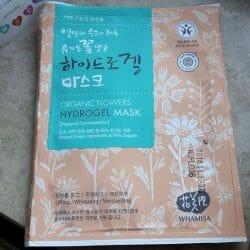 Produktbild zu WHAMISA Organic Flowers Hydrogel Mask