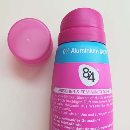 Sprühkopf - 8x4 Pink Fresh Deodorant Spray