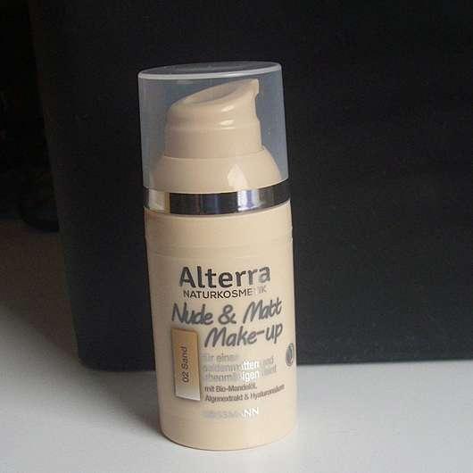 <strong>Alterra Naturkosmetik</strong> Nude & Matt Make-up - Farbe: 02 Sand