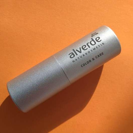 alverde Color & Care Lipstick, Farbe: 03 Rosy Nude