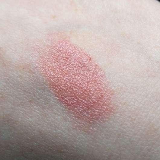 Swatch des alverde Color & Care Lipstick, Farbe: 03 Rosy Nude