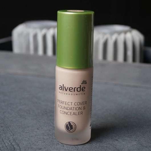 alverde Perfect Cover Foundation & Concealer, Farbe: 10 Vanilla