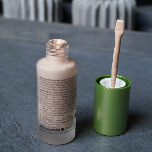 Applikator der alverde Perfect Cover Foundation & Concealer, Farbe: 10 Vanilla