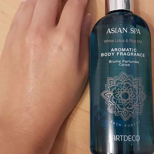 ARTDECO SENSES ASIAN SPA Skin Purity Aromatic Body Fragrance