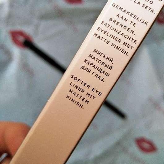 Verpackungsrückseite - ARTDECO x Claudia Schiffer Make Up Smokey Eye Styler, Farbe: 15 Glint