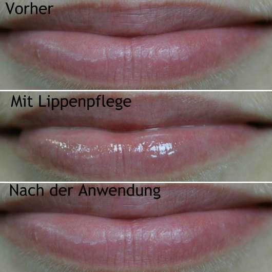 ohne/mit Avène Cold Cream Lippenbalsam im Tiegel