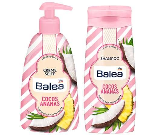 Balea Sommer Limited Edition 2018- Duftrichtung Cocos und Ananas