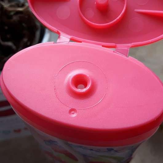 Dosieröffnung - Balea Cremedusche Himbeere & Limette