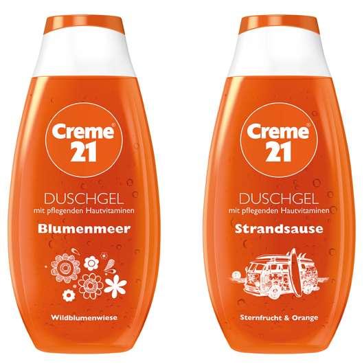 Creme 21 Sommer-Duschgele