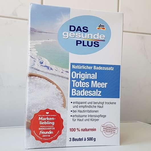 <strong>DAS gesunde PLUS</strong> Original Totes Meer Badesalz