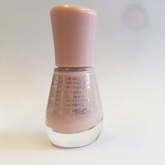 Verpackungsrückseite - essence the gel nail polish, Farbe: 98 pure beauty
