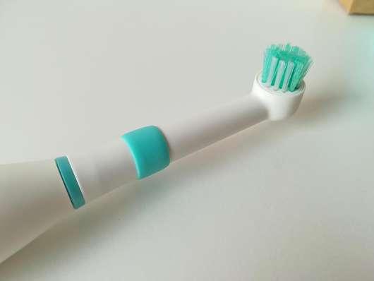 Bürstenkopf der happybrush elektrische Zahnbürste