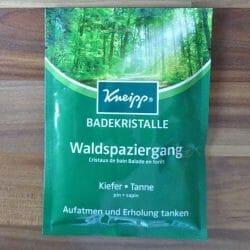 Produktbild zu Kneipp Badekristalle Waldspaziergang (Sachet)