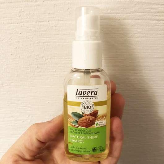 lavera Natural Shine Haaröl Bio-Mandelöl & Bio-Macadamianussöl